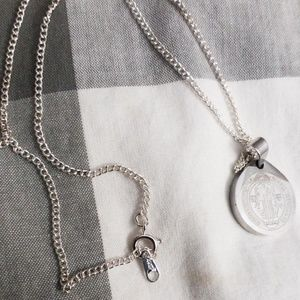 Vintage Jewelry - Vintage necklace with St. Benedict medal